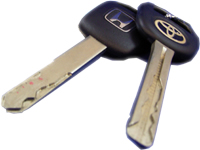 車のハイセキュリティ錠